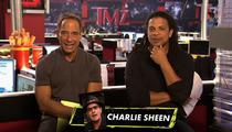 Charlie Sheen -- Ashton Kutcher SUUUUCKS