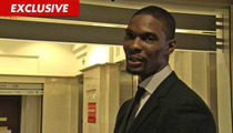 Chris Bosh -- Reunited with Daughter ... Thanks to All-Star Weekend