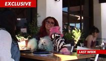 Aubrey O'Day -- Dog Anuses Ignite Health Dept. Investigation