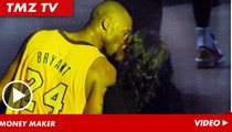 Kobe Bryant & Vanessa -- Kiss and Make Up ... 'Cause It's Worth It