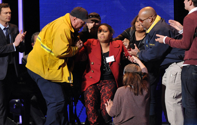 """American Idol"" Contestant Collapses On Stage"