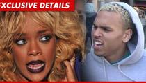 Chris Brown -- Don't Tell ANYONE I Was at Rihanna's Birthday