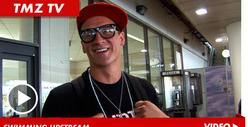 Olympic Swimmer Ryan Lochte -- Flashing Gold Medal D-Baggery