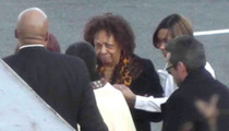 Whitney Houston's Family Arrives for Private Viewing
