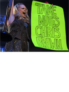 Miranda Lambert Slams Chris Brown in Concert