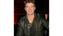 Robin Thicke Arrested on Pot Charges