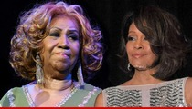 Aretha Franklin -- Calls in Sick to Whitney Houston's Funeral, But Performs in NYC That Night