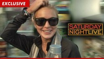 Lindsay Lohan -- Doing 'Saturday Night Live' Was My Idea