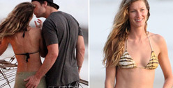 Gisele Bundchen -- Tom Brady Still Loves Me ... in a Bikini