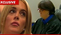 Lindsay Lohan -- Judge Sautner's Tough Love Saved My Career!