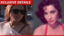 Lindsay Lohan -- I'm Living & Breathing Liz Taylor to Prep for Movie Role
