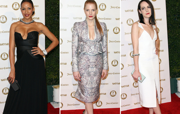 Risque Fashion Rules at Vanity Fair Bash In Hollywood