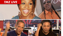 TMZ Live: Gladys Knight Calls In ... Harvey & Charles SING BACK-UP