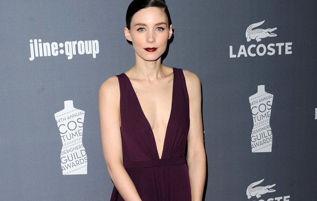 Girl With The Plunging Neckline -- Rooney Mara Stuns at Fashion Event