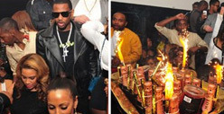 Rapper Fabolous Drops $45,000 on 120 BOTTLES Inside Atlanta Nightclub