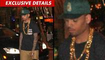 Chris Brown -- Accused of Drive-By Phone Robbery