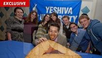 Kobayashi Goes Kosher -- Devours Giant Jewish Pastry