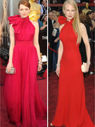 Emma Stone&#039;s Oscar Dress -- Nicole Kidman Flashback?