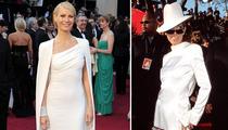 Gwyneth Paltrow in Celine Dion's Infamous Oscars Tux?