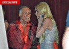 Hugh Hefner and Crystal Harris -- First Meeting Since Broken Engagement