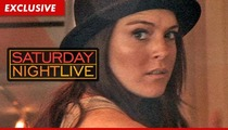 Lindsay Lohan -- I'll Joke About ANYTHING on 'Saturday Night Live'