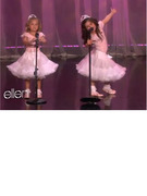 Sophia Grace and Rosie Serenade Ellen with an Original Song!