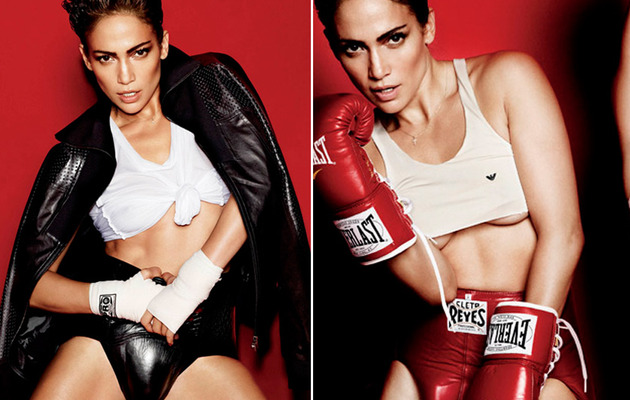Jennifer Lopez Gets Naked, Wears Men's Cup In New Photos