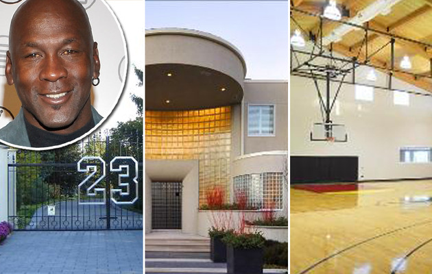 Michael Jordan's Ridiculous Mansion for Sale ... for $29 Million!