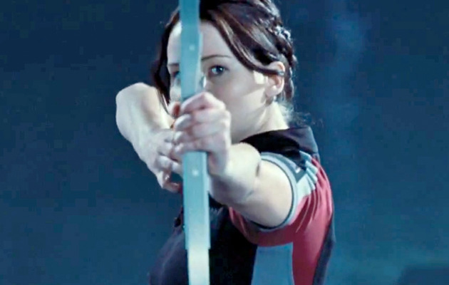 """The Hunger Games"": Katniss Takes Aim In First Clip!"