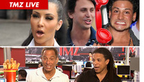 TMZ Live: Kim Kardashian's Post-Wedding Donation ... Half-Assed?
