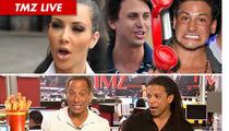 TMZ Live: Kim Kardashian's Post-Wedding Donation ... Half-Assed?