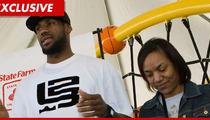 LeBron James' Mom -- Punished for Power-Slapping Valet