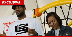LeBron James&#039; Mom -- Punished for Power-Slapping Valet