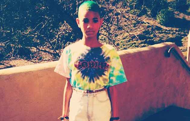 Willow Smith: Check Out Her New Green Hair!