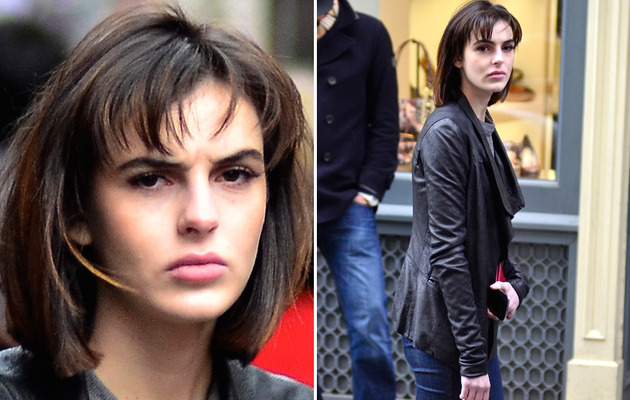 Ali Lohan Chops Off Her Hair!