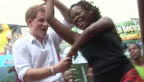 Prince Harry Gets Low to Bob Marley Classic -- VIDEO