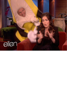 Megan Fox Scared By Giant Sneaky Banana -- VIDEO!