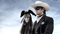 "First Photo: See Johnny Depp as ""Tonto"" in ""Lone Ranger"" Movie"