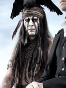 First Photo: See Johnny Depp as &quot;Tonto&quot; in &quot;Lone Ranger&quot; Movie
