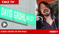 Dave Grohl -- Catch Me Chillin' in the Alley