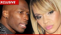 Chad Ochocinco and Evelyn Lozada -- Getting PAID for 'Basketball Wives' Spinoff Show