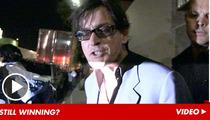 Charlie Sheen -- HAMMERED After Guns N' Roses Concert