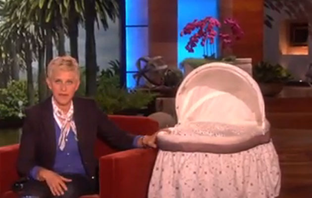 Ellen Gives Snooki a Custom Baby Gift