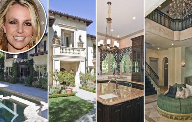 """Britney Spears' """"Breakdown"""" House For Sale for $2.995 Million"""