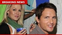 Jennie Garth -- Divorcing 'Twilight' Hunk Peter Facinelli