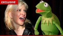 Courtney Love -- Disney and Kermit the Frog Are RAPING Kurt Cobain
