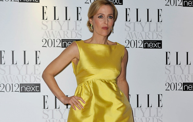 X-Files Star Gillian Anderson Gets Naked  with an Eel?!