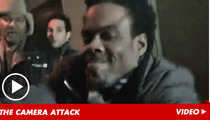 Chris Rock Attacks Camera Over Tea Party Question