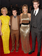"""The Hunger Games"" Cast Hits Red Carpet Again for U.K. Premiere"