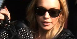 Lindsay Lohan Hits Person in Car, then Flees